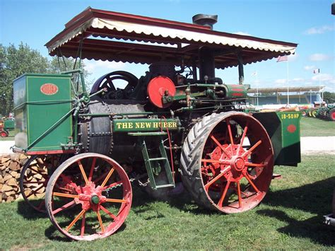 The New - the new huber traction engines