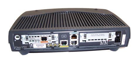 Cisco Router 1700 Series Cisco 1721 1700 Series Software C1700 Y7 M Ver 12 3 6 Router No Ac Adapter Ebay