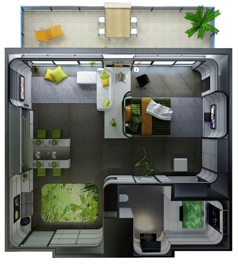 house 2 home design studio le plan appartement d un studio 50 id 233 es originales