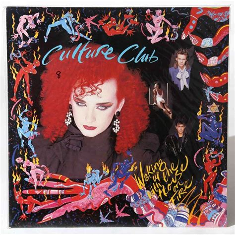the house was on fire waking up with the house on fire by culture club lp with lpfrenzy80s ref 3380096853