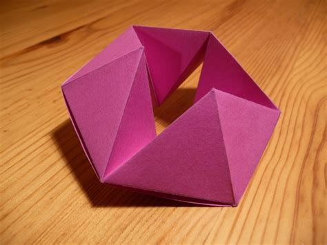 How To Make A Paper Hexaflexagon - origami nut 187 hexaflexagon
