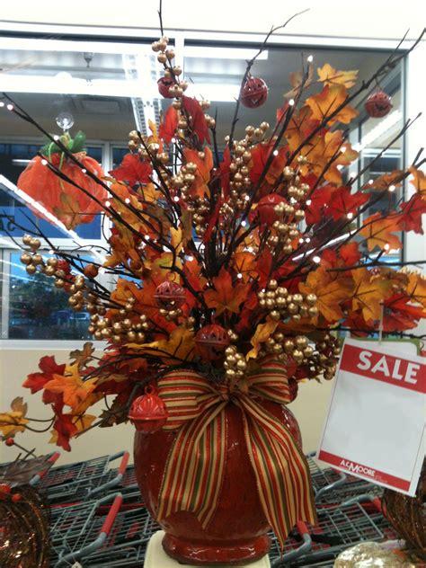 fall floral arrangement designed  ac moore severna