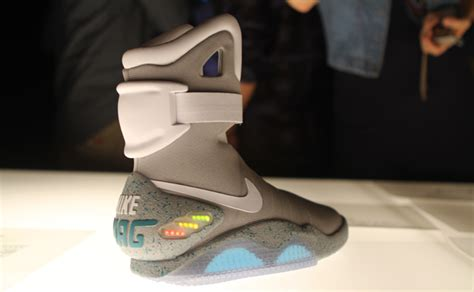Nike Air Mcfly To Be Released by Great Marty Mcfly S Air Mag Sneakers Are Real Wired