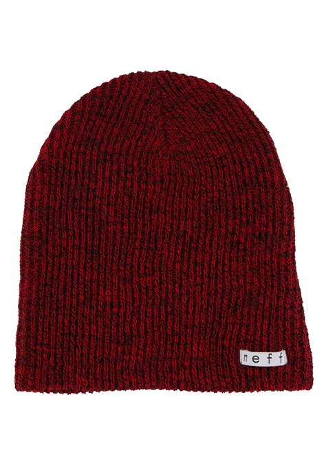 black knit hat neff daily black knit hat