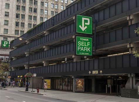interpark west willis tower parking garage