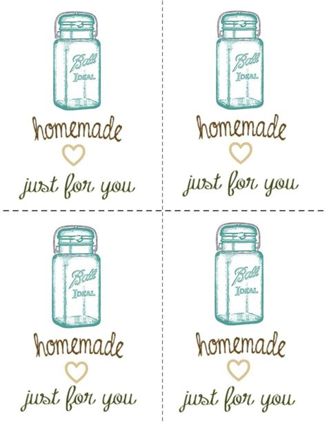 gift in a jar tag template search results calendar 2015 17 best images about free mason jar printables on