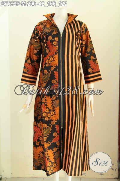 Longdress Motif Gamis Anak baju batik wanita muslimah gamis batik dress bagus