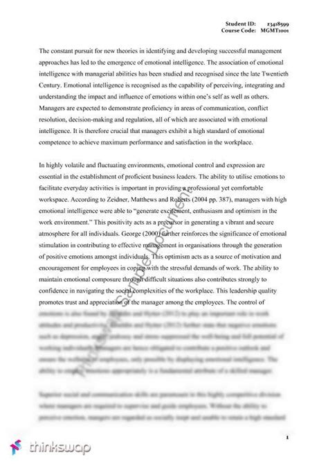 Assignment 1 Mba 5102 Changing Times Business In The 21st Century by Mgmt1001 Assignment 1 Essay 2013 Mgmt1001 Managing