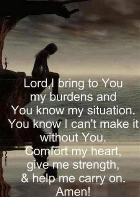 prayer for strength and comfort prayer for comfort and strength love it pinterest