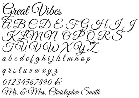 font great vibes available fonts wholesale party favors in a box