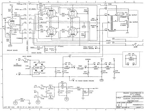 Power Lifier Peavey Cs peavey crossover schematic peavey get free image about