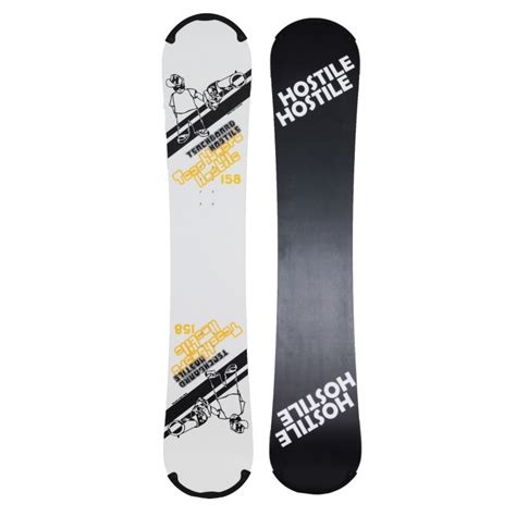 tavole hostile tavola snowboard hostile teachboard third generation