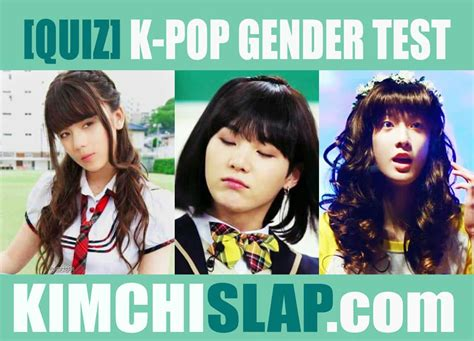 bts quiz kpop quiz k pop gender test can you guess if these idols