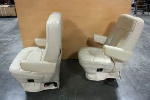 used captains chairs for sale rv furniture used rv leather look captain chairs for sale