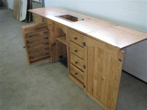 solid wood sewing machine cabinets amish furniture sewing machine cabinet sewing