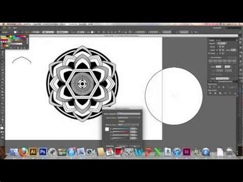 vector kaleidoscope tutorial creating kaleidoscope patterns in adobe illustrator cs6