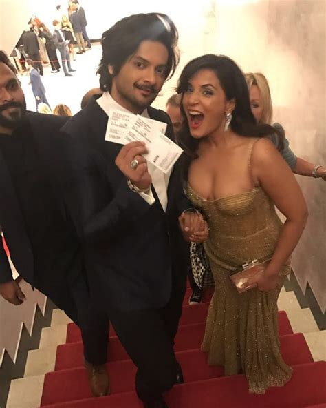 richa chadda foto are richa chadda and ali fazal making their relationship