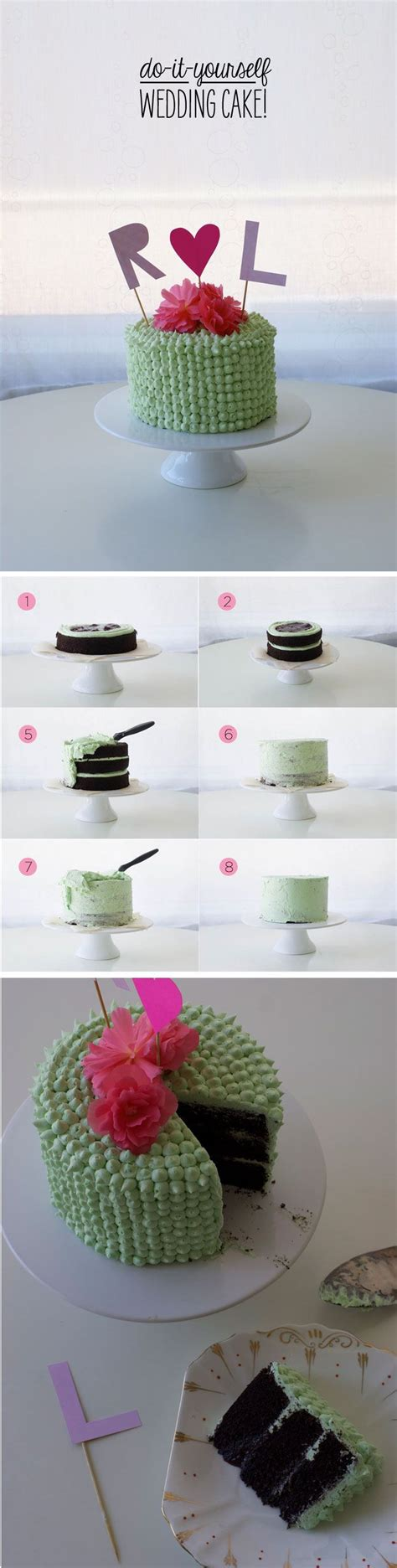do it yourself wedding cake decorating do it yourself wedding cake make your best friends or even your own wedding cake with this