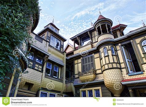 design elements san jose blvd the winchester mystery house stock photos image 35325223