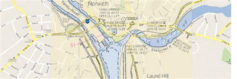 thames river map ct norwich thames river connecticut