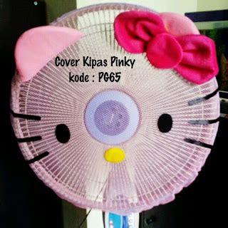 Chikito Cover Kipas Angin sarung kipas cover kipas hello murah grosir ecer pink toko cherish imut