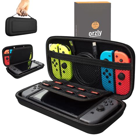 Nintendo Switch All In Carrying Bag Murah orzly carry for nintendo switch black orzly