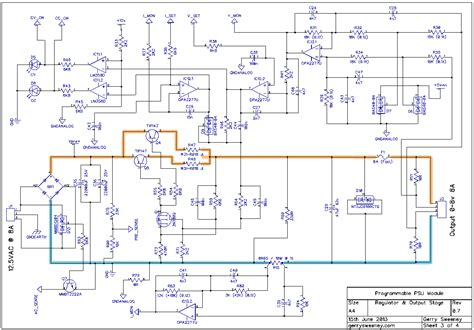 bench power supply schematic fully programmable modular bench power supply part 14
