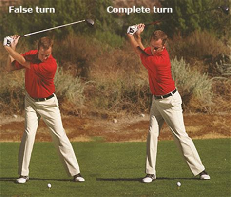 Full Shoulder Turn Golf Instruction Iseekgolf Com Forums