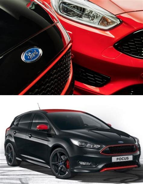 ford focus mk st  style black  red honeycomb mesh front bumper underground parts