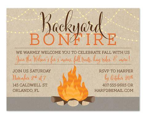 backyard bonfire fall festifun