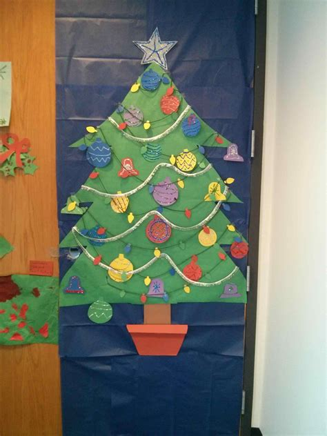 diy christmas tree classroom door decorations diy classroom door decorations kapan date