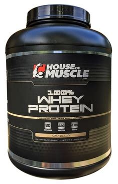 house of muscle house of muscle 100 whey protein premium protein