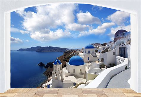 Wall Murals Greece Large Wall Mural Photo Wallpaper For Bedroom Or Living