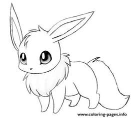 cute eevee coloring pages printable