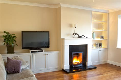 Living Room Cabinets Dublin Fitted Sitting Room Units With Built In Led Lights