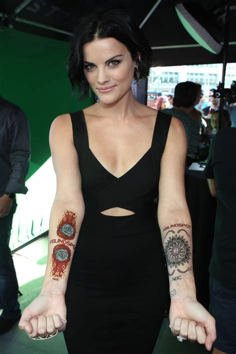 tattoo girl show nbc nbc s blindspot jaimie alexander s real tattoo