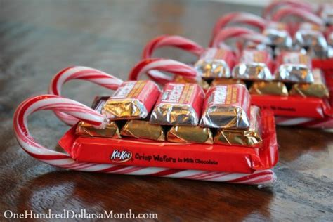 easy crafts sleigh