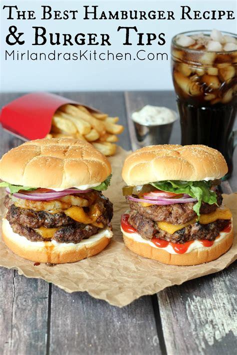 cheeseburger recipe image gallery hamburger recipes