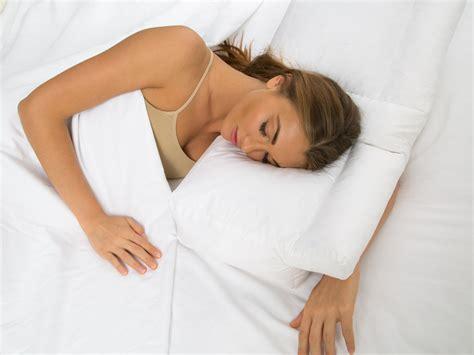 sleep pillow better sleep pillow gel fiber fill pillow sleeping w