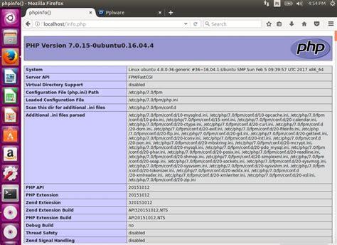 tutorial php gettext tutorial nginx com php 7 e mysql no ubuntu 16 04 lts