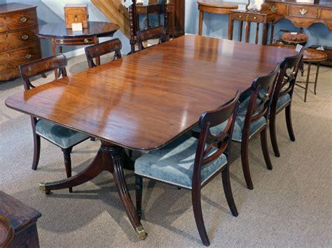 antique dining table regency dining table pedestal