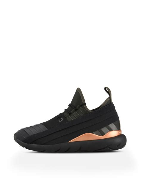 y 3 shoes y 3 qasa lace 2 0 sneakers in black for adidas y 3
