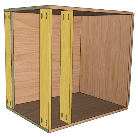 how to make base cabinets how to build frameless base cabinets