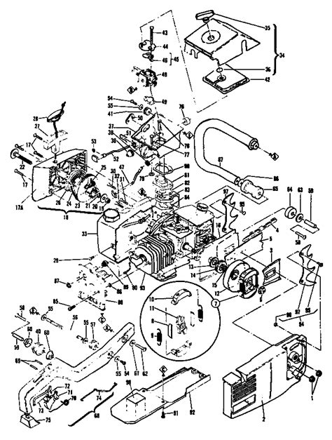 eager beaver chainsaw parts diagram mcculloch eager beaver parts diagram go search