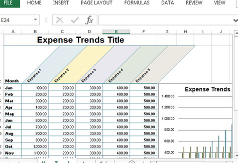 Small Business Expense Sheet For Excel Business Expense Template