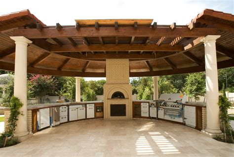 outdoor kitchen pavilion designs outdoor kitchen gazebo 20 combinations of indoor and