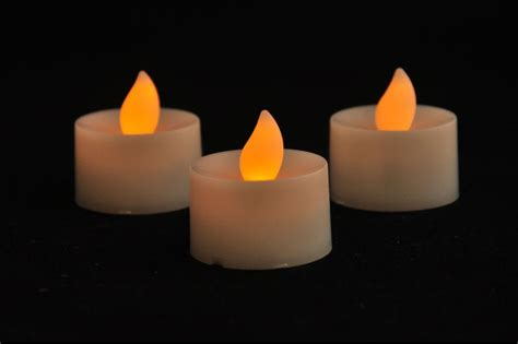 flickering votive candle dancing flameless led tealight