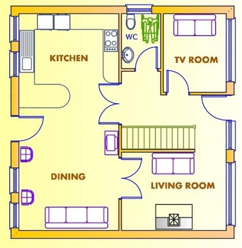 ground floor plan for home luxury ground floor first floor home plan new home plans