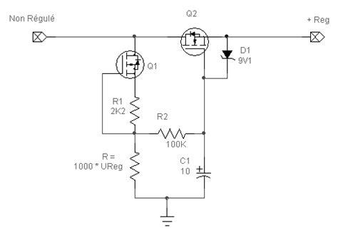 transistor mosfet haute tension r 233 gulateur alimentation haute tension