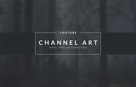 channel art template gimp youtube